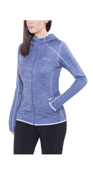 Columbia Sapphire Trail Hooded Fleece Jacket Women Bluebell